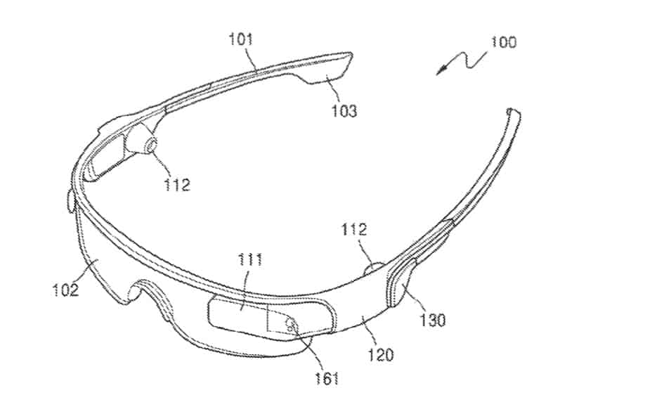 Samsung smartglass design