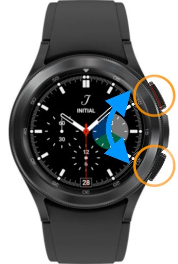 how to take a screenshot on the Samsung Galaxy watch 4 and Wear OS 3.0