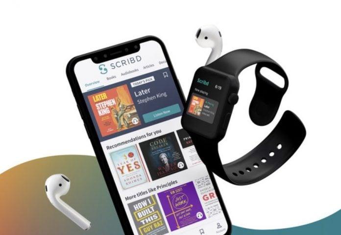 Scribd app on Apple Watch