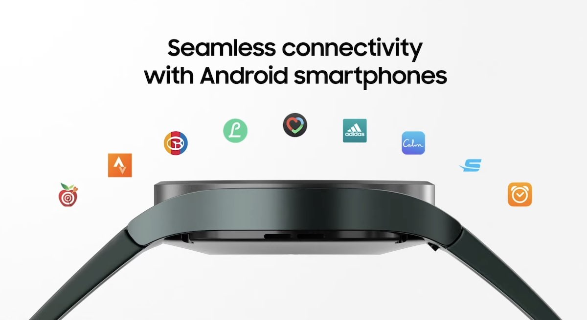 Android connectivity Galaxy Watch 4