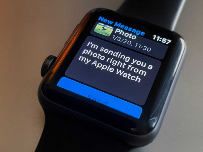 Apple Watch how to send and share a photo