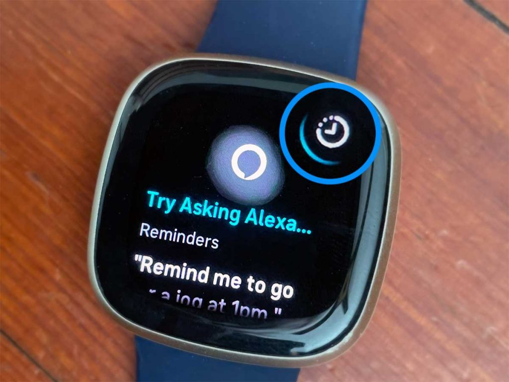 Use Alexa on Fitbit to set up alarms, reminders, and timers