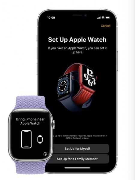 Apple Watch set up
