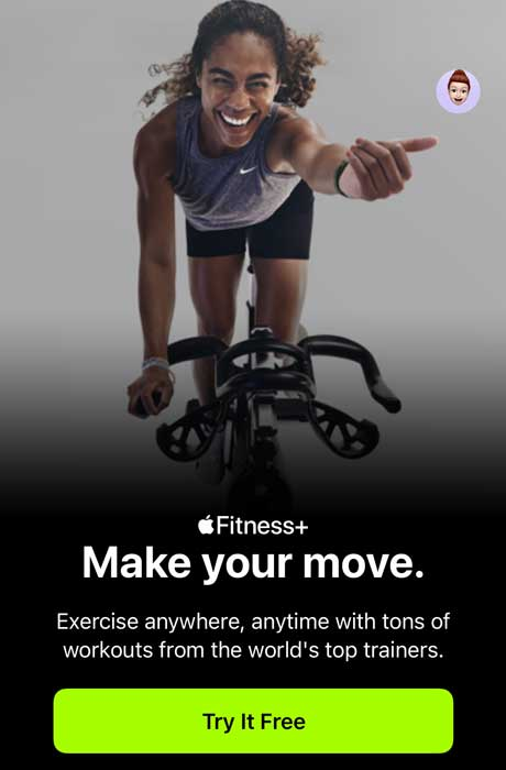 start an Apple fitness+ subscription for your family