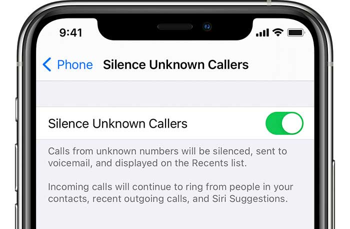 check if you turned on Silence Unknown Callers on your iPhone