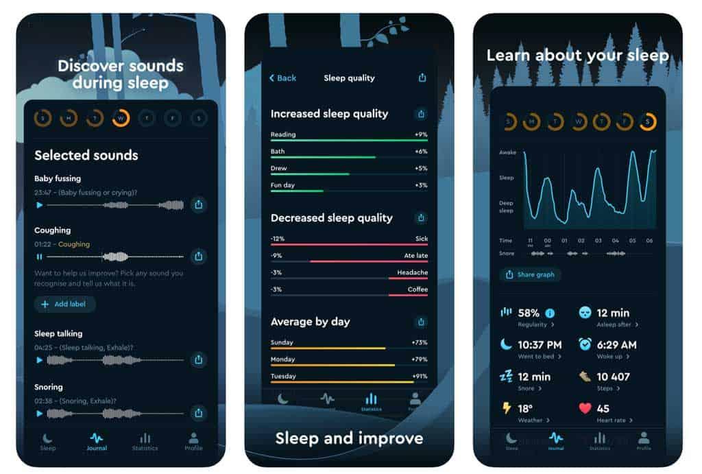 sleep cycle app for iPhone