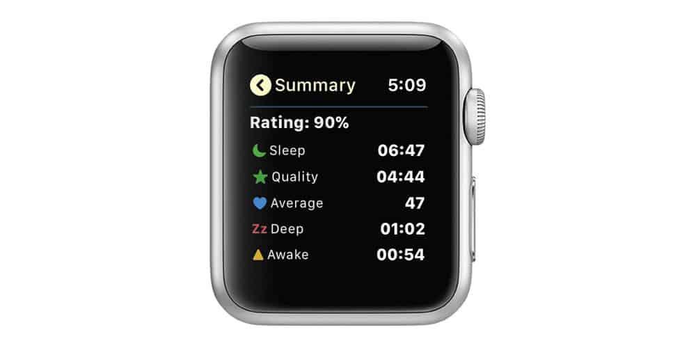 AutoSleep Track Sleep on Watch Sleep Summary