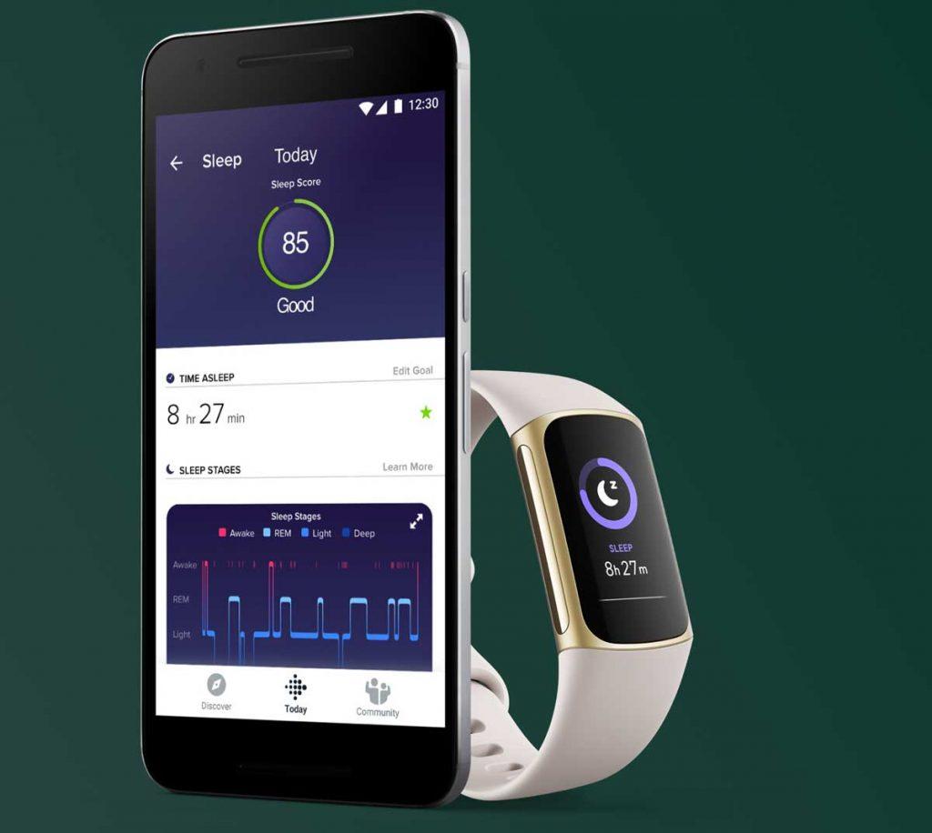 Fitbit Charge 5 sleep metrics