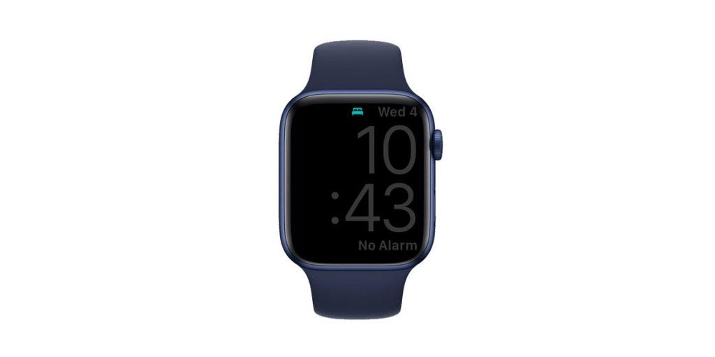 sleep mode screen on apple watch