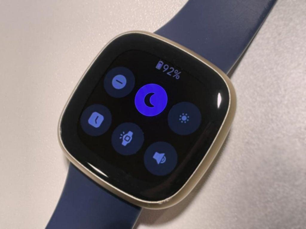 Fitbit sleep mode
