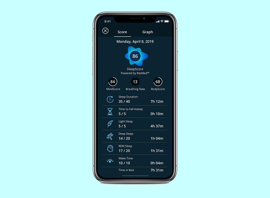 app SleepScore