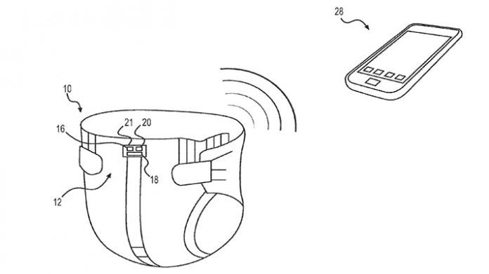 Smart Diapers Patent