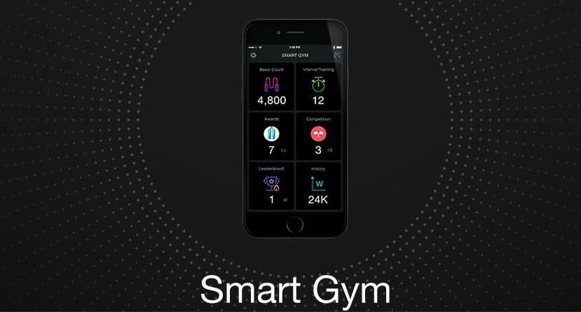 Smartrope app HealthKit for iPhone