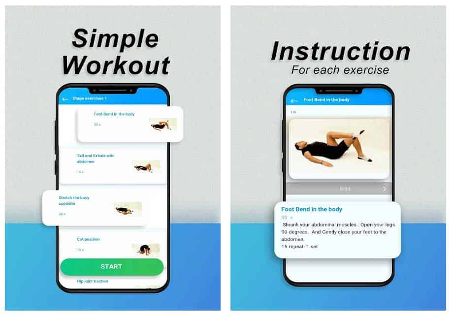 Android app Spinal Health by Insoft