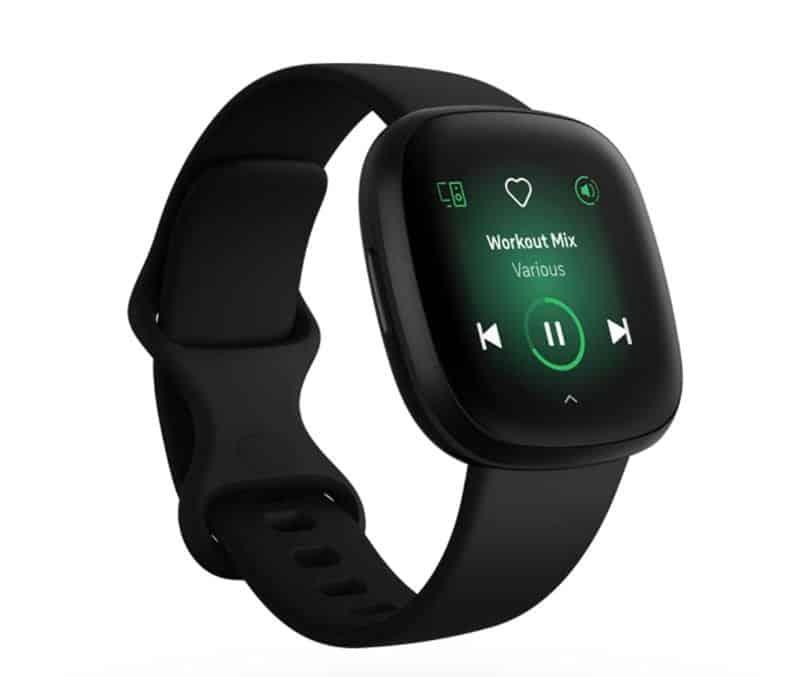 Spotify playing on Fitbit Versa 3