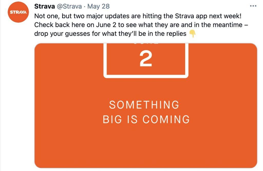 Strava Updates