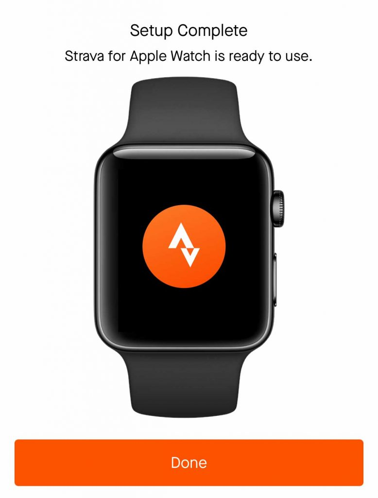 Apple Watch Strava app is ready to use