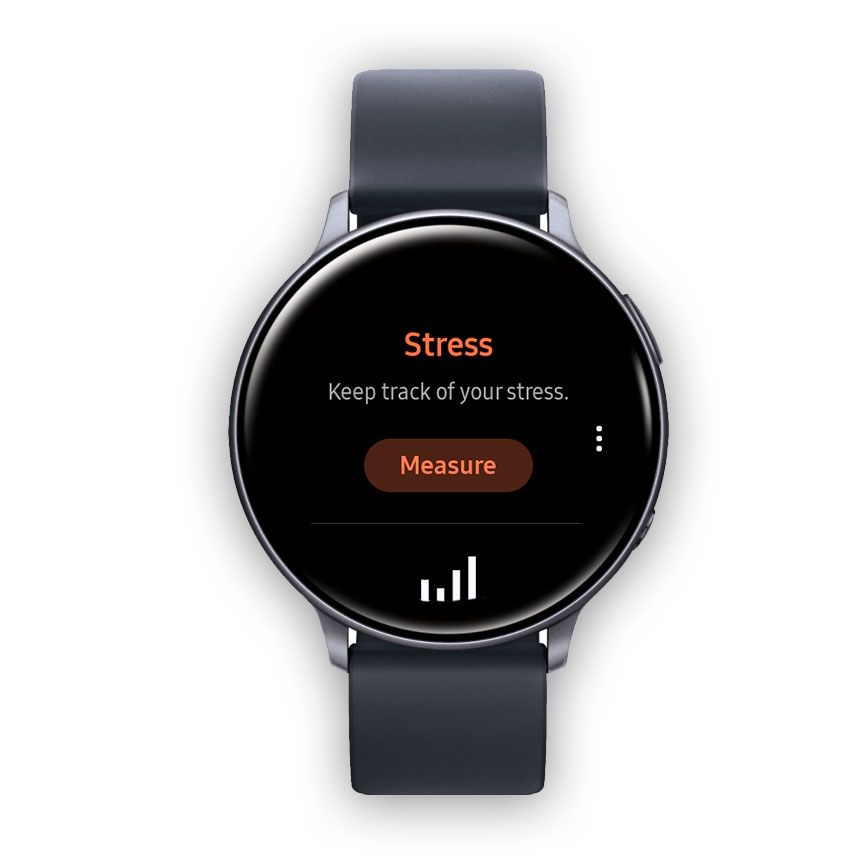 Samsung Health app Stress feature on Samsung watch
