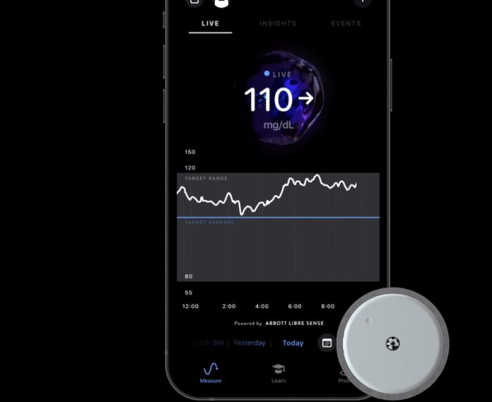 Supersapiens glucose monitoring and wearable