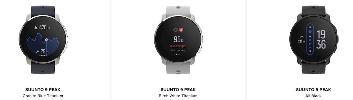 Suunto 9 Peak models