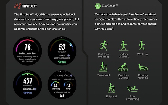 T-Rex pro and firstbeat analytics