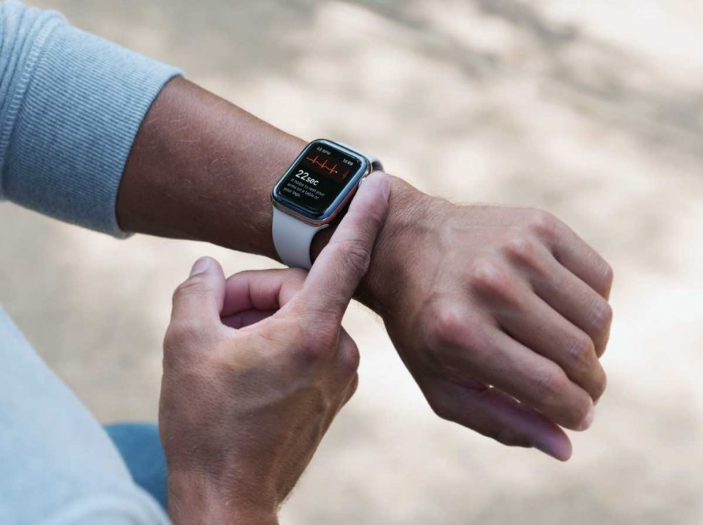 take an ECG using Apple Watch