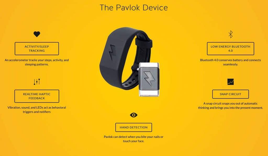 Pavlok wearable technical specs