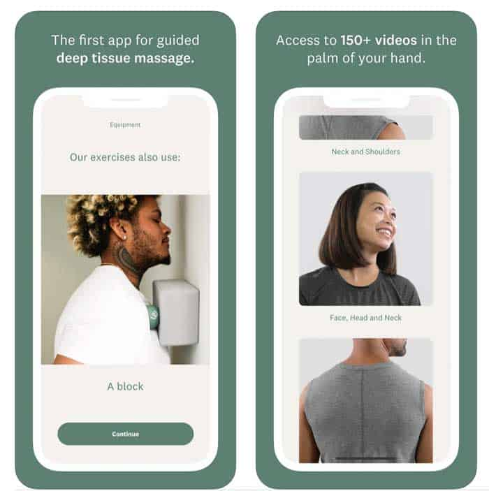 app for the Wellround massage ball