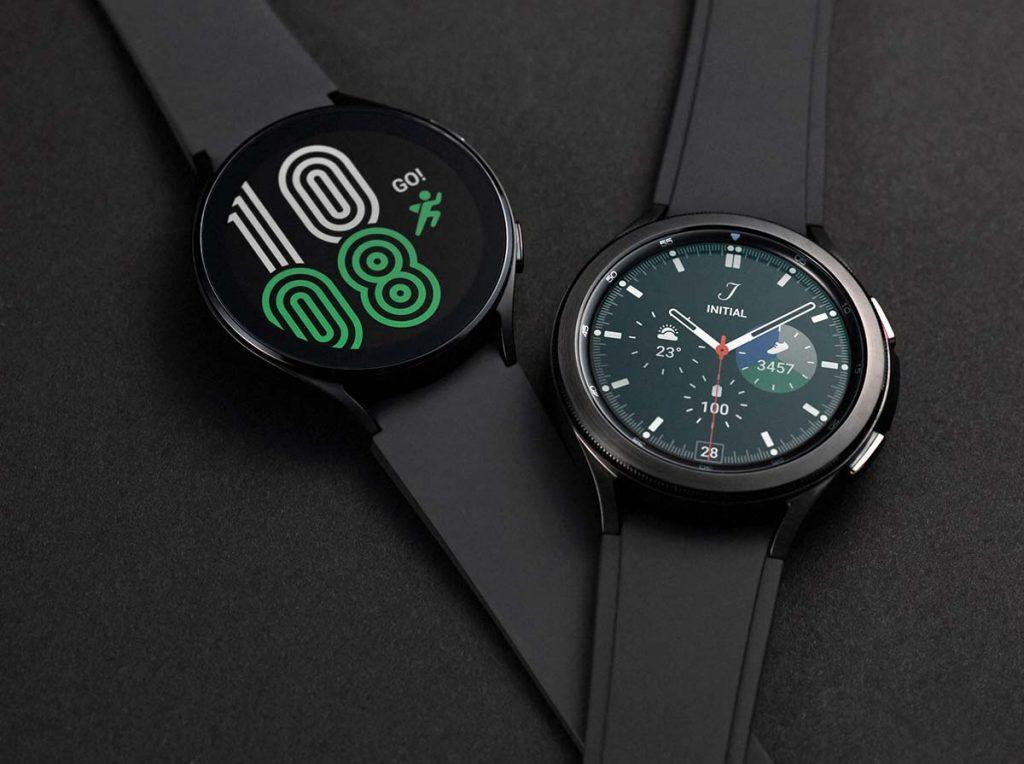 both models of Samsung's Galaxy 4 Watch