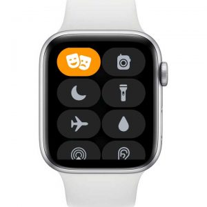 theater mode on Apple Watch in Control Center