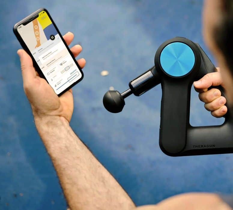 Theragun's Therabody app personalizes your wellness routines based on your behaviors & preferences