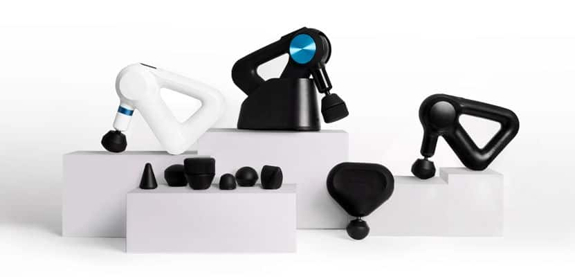 Smart Percussive Therapy devices by Theragun