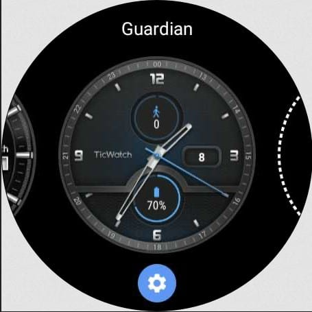 Ticwatch pro 3 watch face