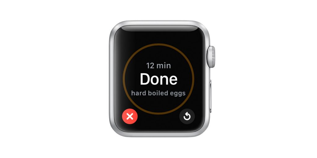 timer on apple watch alerts you when it's finished