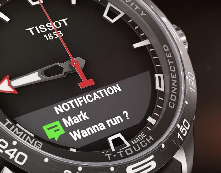 Tissot T-connect smart features