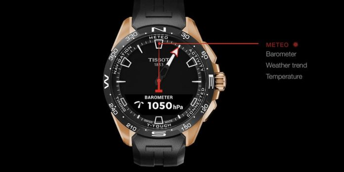 Tissot T-connect watch features