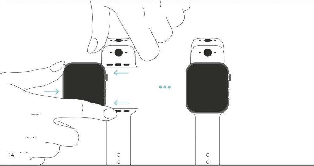 Attach camera to Apple Watch
