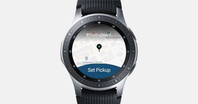 Uber galaxy watch
