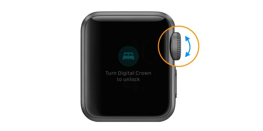 apple watch unlock sleep mode