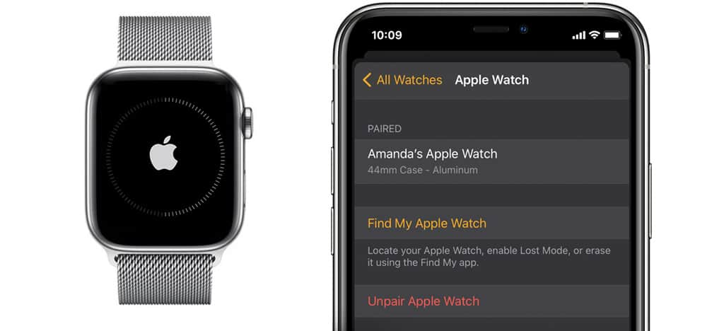 unpair apple watch from iPhone, whether you have the iPhone or not!