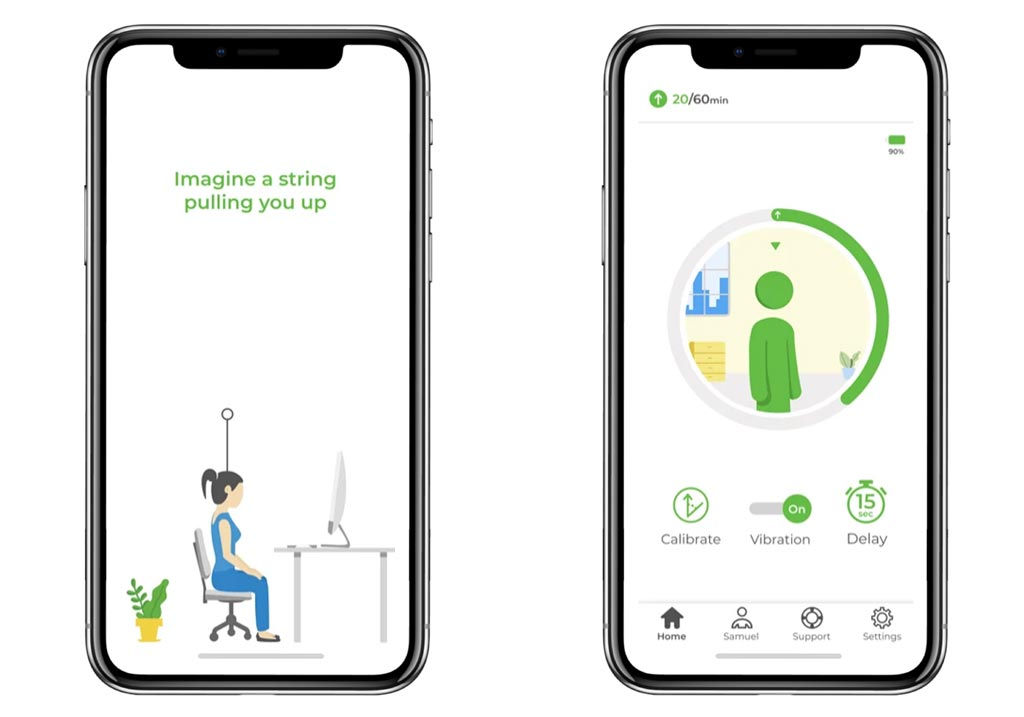 UprightGo app