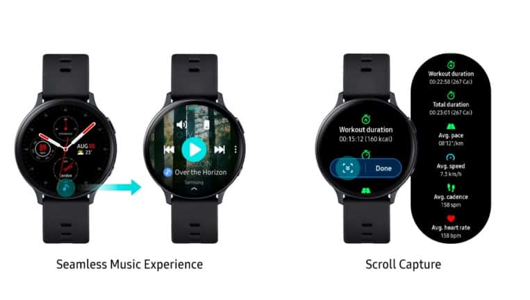 Samsung Galaxy watch 2 new features