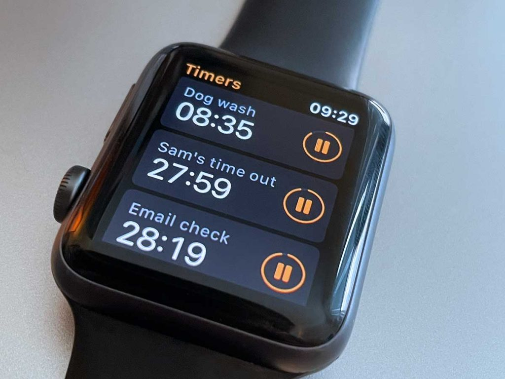 It's easy to set up and use multiple timers on your Apple Watch