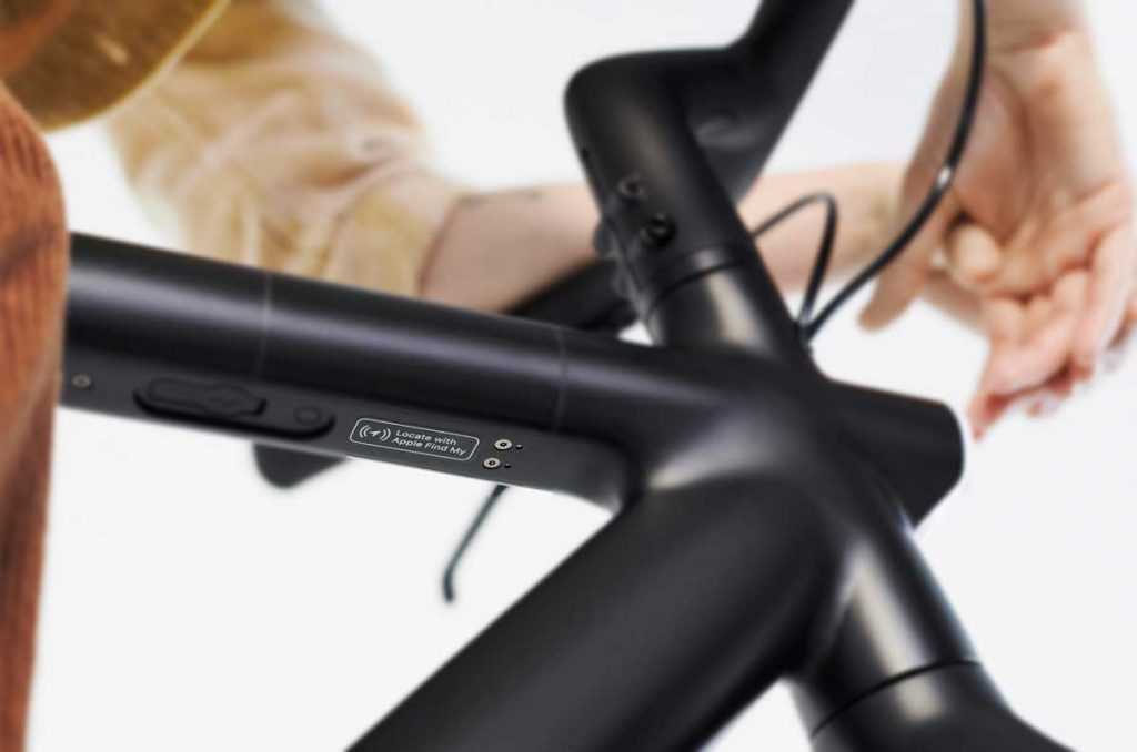bikes that works with Apple Find My network