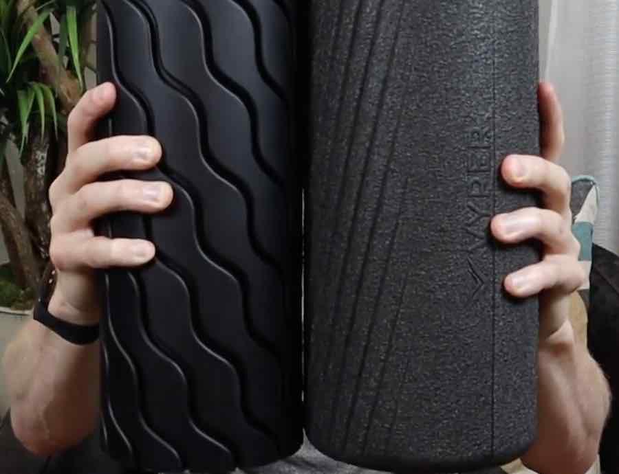 Vyper 2.0 vs Theragun vibrating foam roller