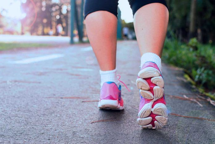 Counting steps with Fitbit