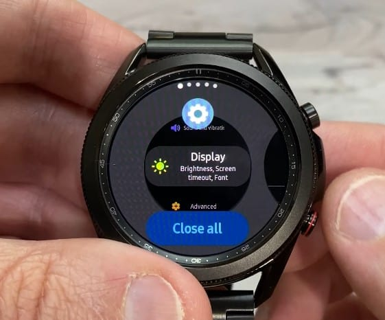 Increase battery life on Galaxy Watch 3