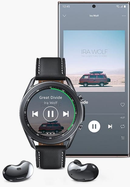 Galaxy watch spotify sync