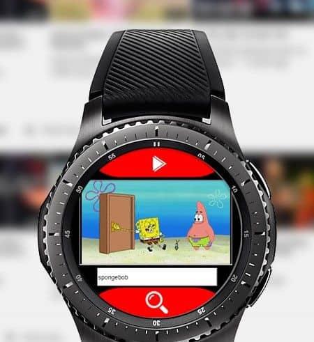Watch Tube on galaxy watch