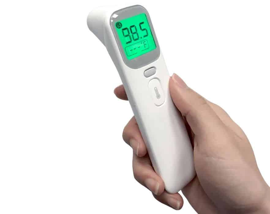 Wellue Non-Contact Forehead & Ear Infrared Thermometer
